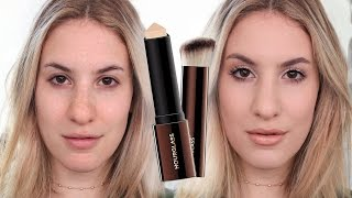 HOURGLASS VANISH Foundation FIRST IMPRESSION/REVIEW | JamiePaigeBeauty