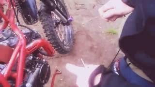 Замена тросика газа на мотоцикле ( irbis ttr 125)