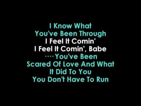 I Feel It Coming lyrics Karaoke The Weeknd feat Daft Punk