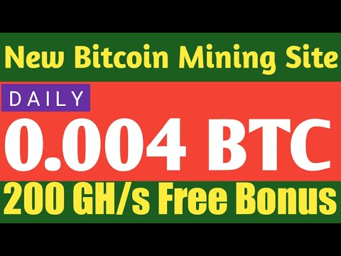 New Bitcoin Mining Site | Free Bitcoin Miner and Generator | New Btc Mining Site | Earn Btc Daily