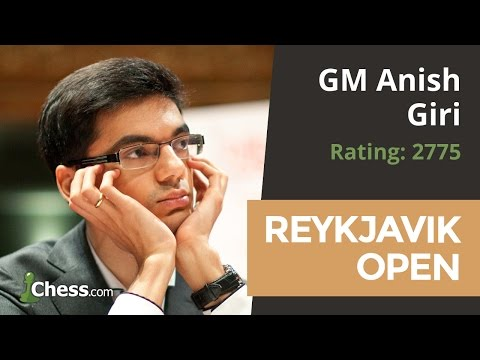 Anish Giri, 2017 Reykjavik Open Champion, On His Game Vs Baadur Jobava