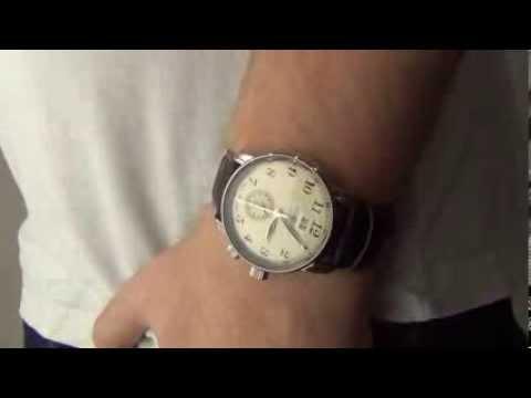 d32cfe79b75 Zegarownia.pl ZEPPELIN LZ127 GRAF ZEPPELIN DUAL TIME Kod produktu  7644-5 -  YouTube