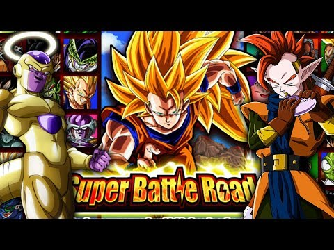 SUPER EASY SUPER BATTLE ROAD! RESURRECTED WARRIOR! Dragon Ball Z Dokkan Battle ITA