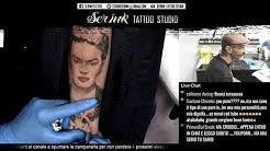 Ritratto Frida Kahlo Tattoo Live Streaming Vol2