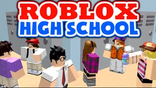 FIRST DAY OF HIGH SCHOOL! Roblox High School