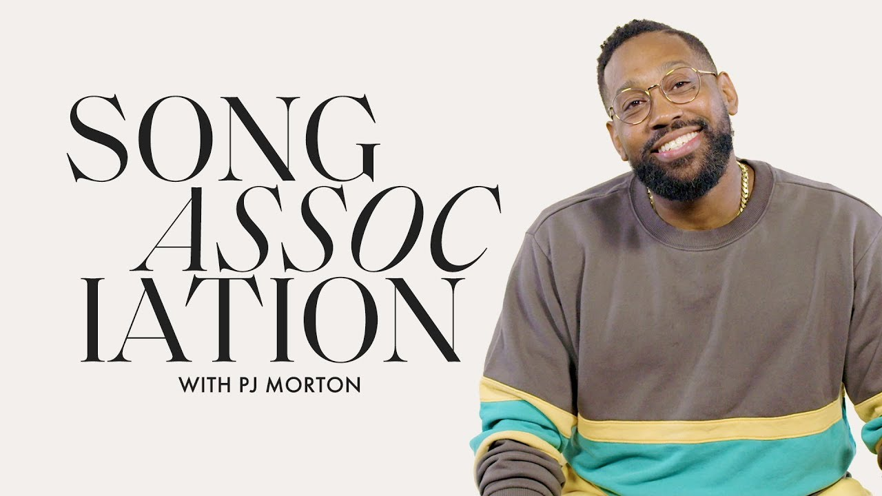 PJ Morton Sings Prince, Frank Sinatra and Whitney Houston in a Game of Song Association | ELLE