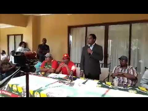 UPND President Hakainde Hichilema Media Briefing
