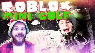 ADVENTURE ON THE MOON! | ROBLOX: Mini Golf [#1] (With: Plaga, Admiros) #Bladii #PL