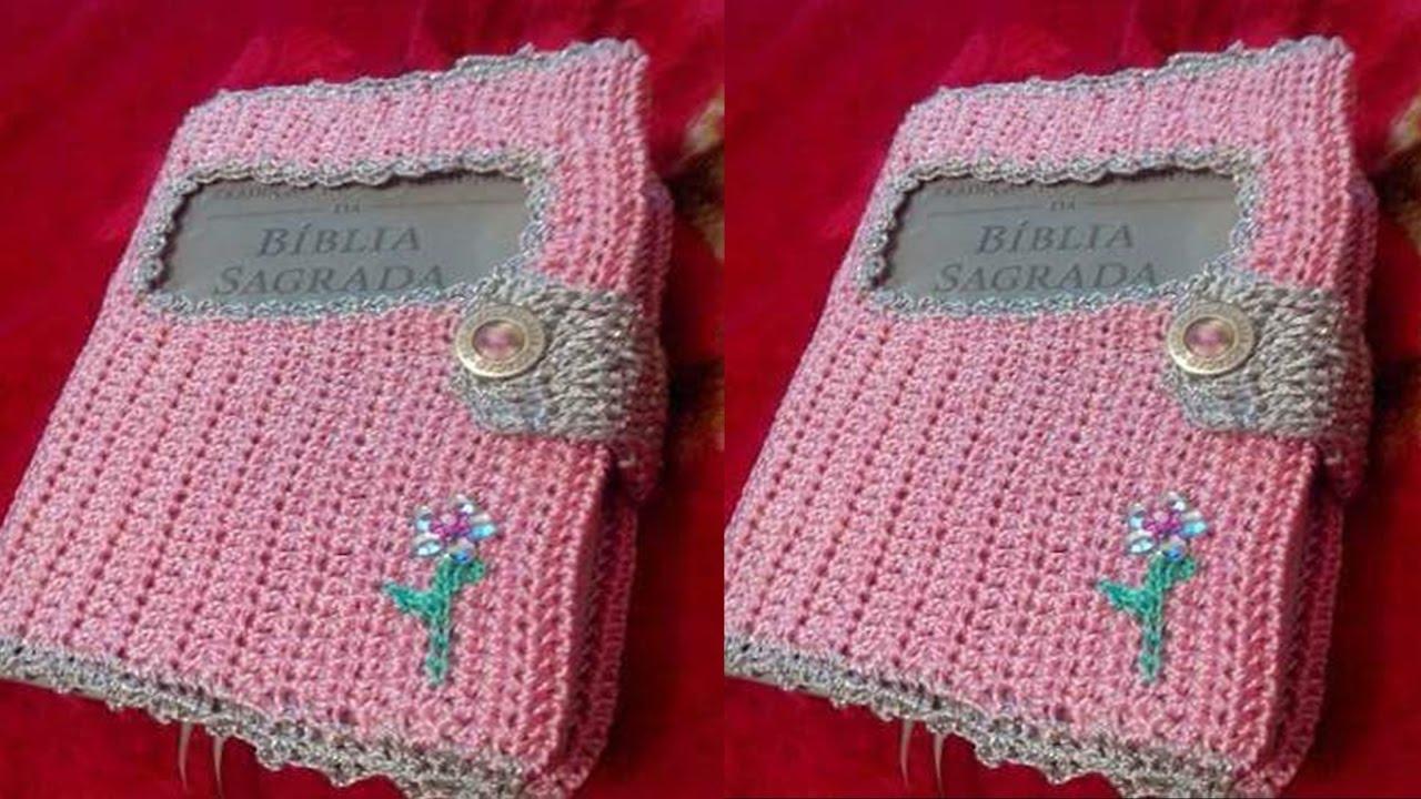 Book Cover Forros Zip : Fundas para libros y biblias a crochet el paso nº