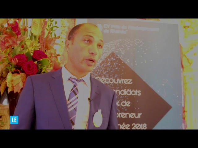 Sadri Fegaier, entrepreneur de lanne?e 2018