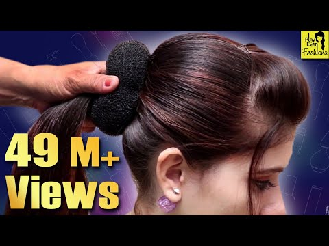 Beautiful Hairstyle for Wedding/party/Function | Hair Style Girl | Different Hairstyles for Party