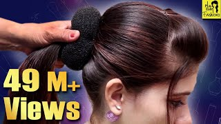 Beautiful Hairstyle for WeddingpartyFunction  Hair Style Girl  Different Hairstyles for Party