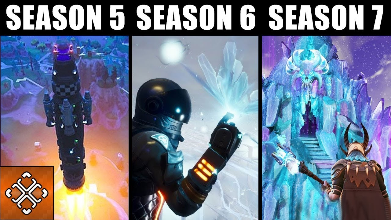 all fortnite live events season 1 to 7 you might have missed - live event fortnite season 8 timer