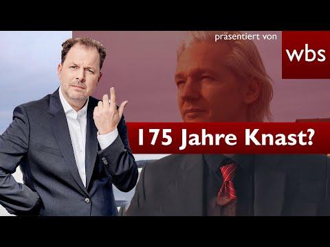 USA fordern 175 Jahre Knast für Julian Assange! Liefern die Briten den Wikileaks Gründer aus?