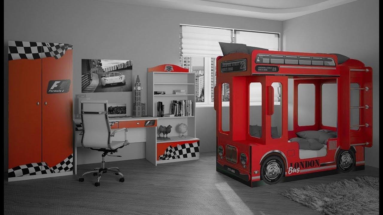 Кровать автобус Лондон - YouTube