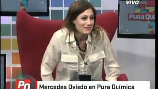 Mercedes Oviedo en Pura Quimica (10-05-2012)