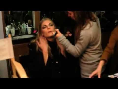 Kenneth Cole fall 2011 Ad campaign Behind the scene with angela lindvall casey taylor