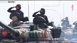 Подготовка к Параду Победы в Бишкеке