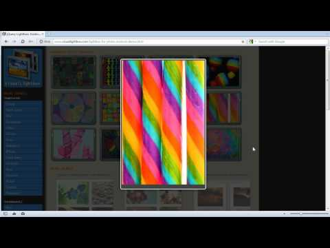 JQuery Lightbox: Android DEMO - XHTML Compliant