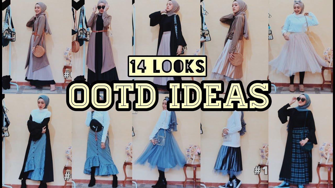 14 LOOKS OOTD IDEAS 2019 #01 CUTE CASUAL & FORMAL (Indonesia) | Seviq Febinita