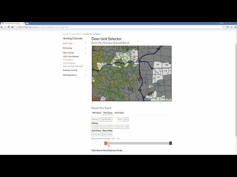 Colorado Big Game Draw Strategies | DIY Hunting Maps