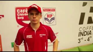 APRC 2016 India Rally_ Interview with MRF Skoda's Fabian Kreim