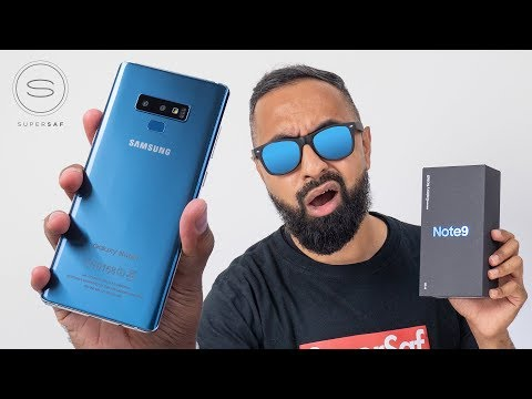 Samsung Galaxy Note 9 UNBOXING (Working Clone)