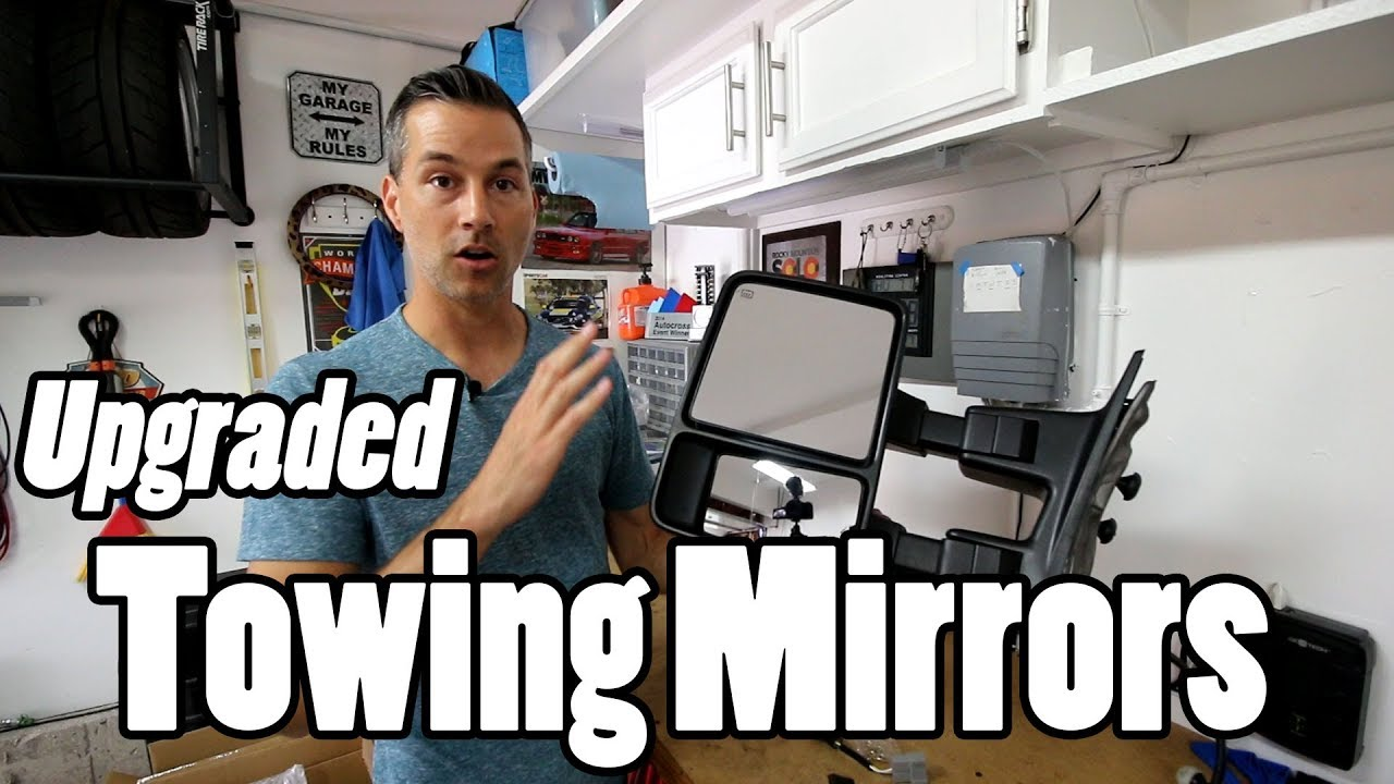 How To Install Towing Mirrors Yitamotor Youtube
