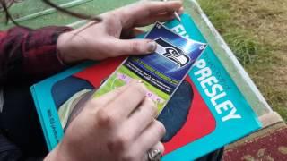 Scratching $50,000 Seahawks scratch ticket
