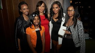Angela Simmons throws her mom Valerie Vaughn a 50th birthday bash in Manhatten, New York.