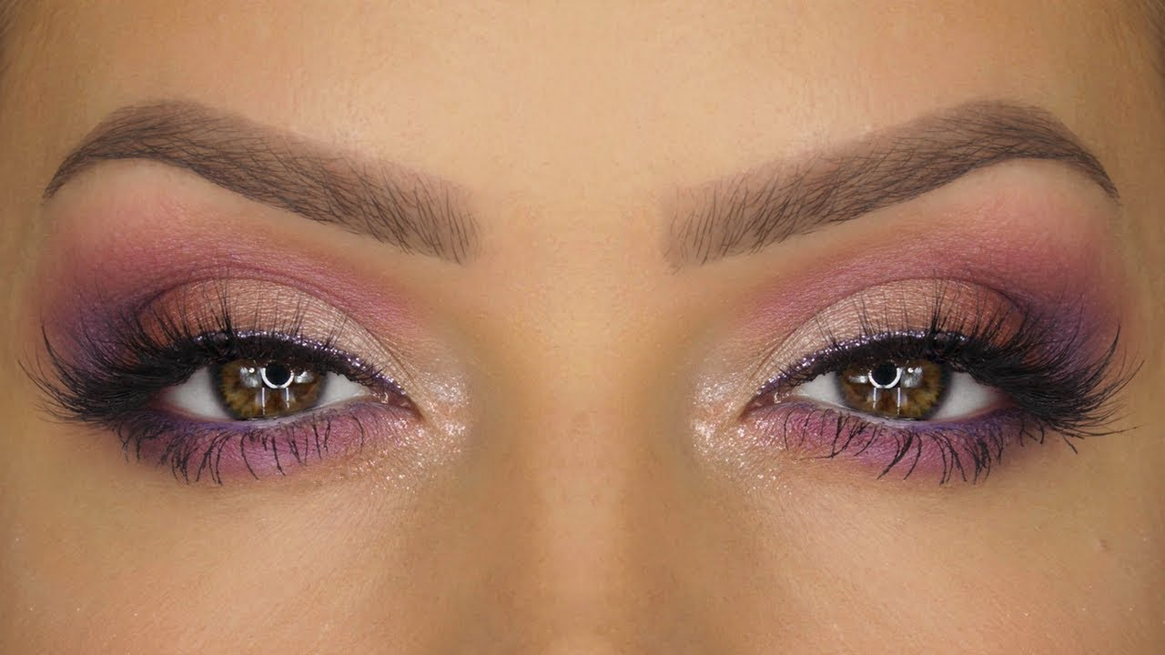 Purples Fall Makeup Tutorial Lila Palette Natasha