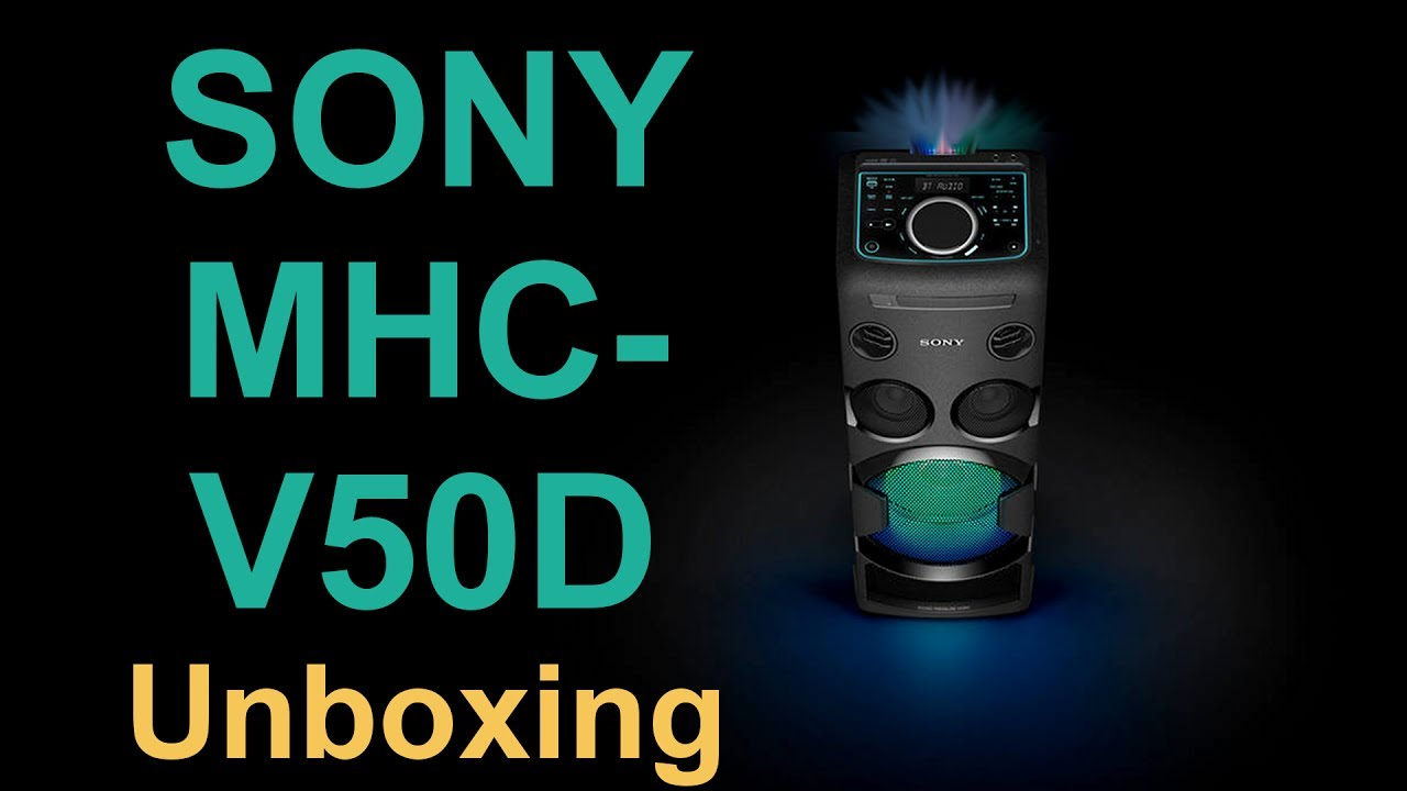 Sony Mhc-v50d - Unboxing  Pictures  Zdj U0119cia