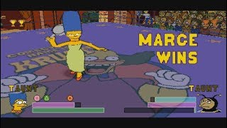 [PSX] The Simpsons Wrestling (Marge) [TAS]