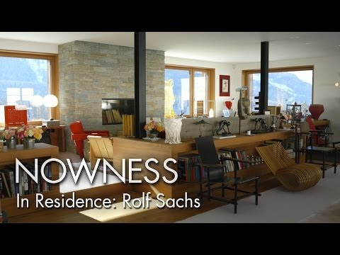 In Residence: Rolf Sachs - an exclusive look inside his St Moritz hideaway