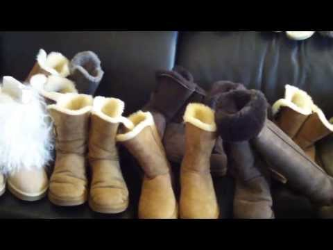 MY UGG AUSTRALIA COLLECTION 29 pairs PART 1