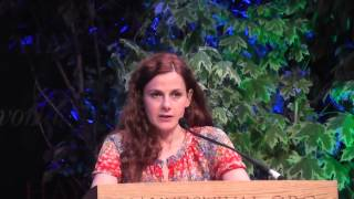Louise Brealey reads a letter from Eudora Welty at Letters Live, Hay Festival