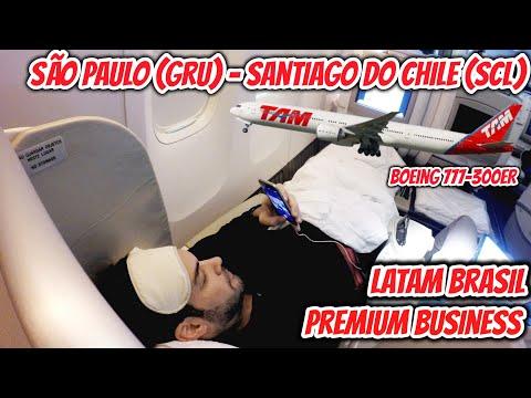 Flight Report #14: São Paulo (GRU) - Santiago de Chile (SCL), na PREMIUM BUSINESS da Latam Brasil