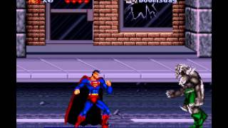 The Death and Return of Superman - Death and Return of Superman, The (SNES) -BaM! Vizzed.com GamePlay - User video