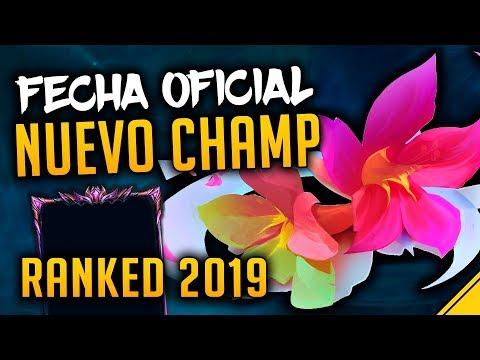 FECHA OFICIAL NUEVO CAMPEÓN y RANKEDS 2019 | Noticias LoL