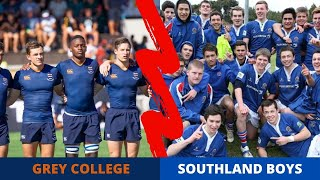 Grey College (South Africa) vs Southland Boys (New Zealand)