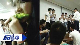 Không đạt doanh số, nhân viên bị ép gặm mướp đắng | VTC