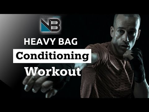 HEAVY BAG CONDITIONING WORKOUT | SHRED WITH BOXING | SESSION 1