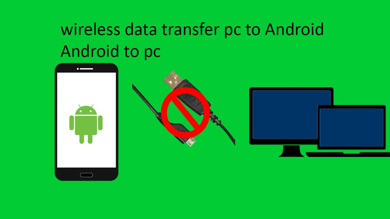 wireless transfer files between android and pc or android to android