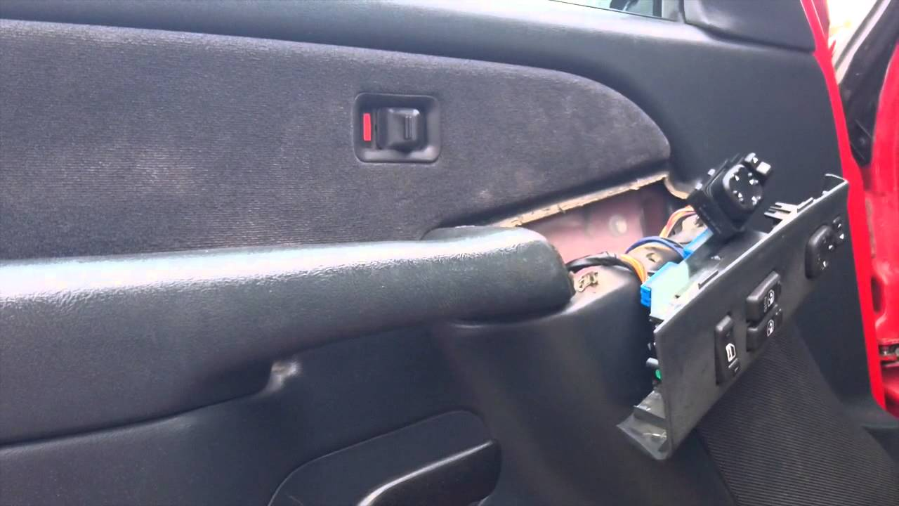 hight resolution of installing a power mirror switch in 2001 silverado or sierra pickup