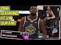 ALL STAR  PINK DIAMOND KEVIN DURANT GAMEPLAY  HOW DO YOU STOP A CARD LIKE THIS  NBA 2k19 MyTEAM