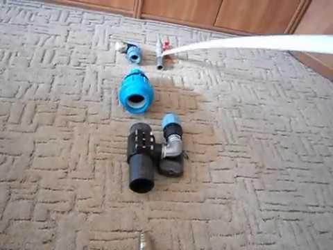 ЭЖЕКТОР для скважины на трубу 63мм (КОМПЛЕКТУЮЩИЕ)
