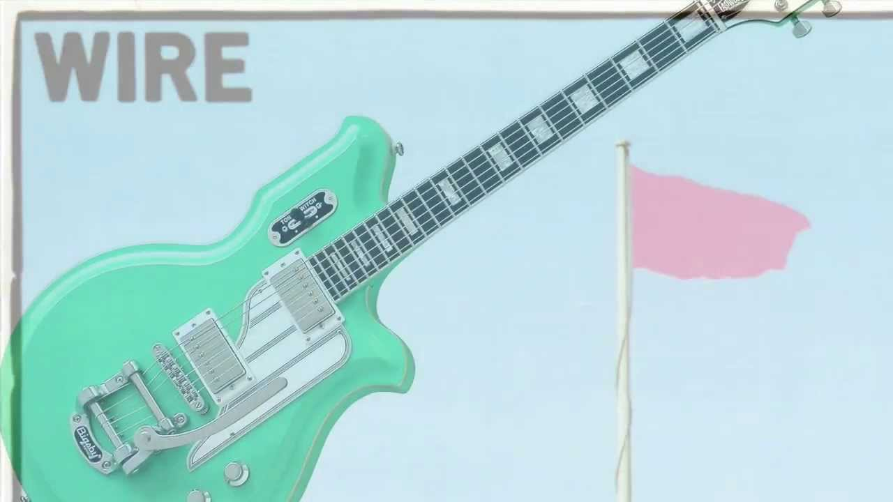 Wire youtube 30 seconds Airline Map Guitar - YouTube