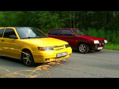 ВАЗ-2112 купэ vs ВАЗ-2108 1,5 16V