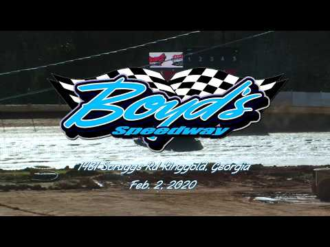 Iron Man Modified @ Boyds Speedway Cabin Fever Feb  2, 2020