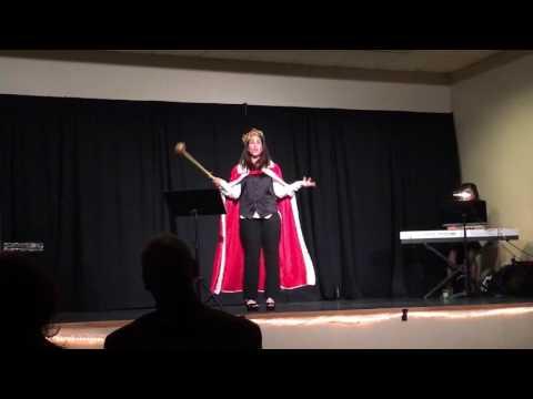 Rabbi Danielle sings Adon Olam/You'll Be Back (Hamilton)